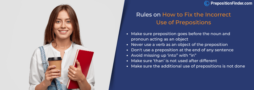 rules on how to how to use prepositions in english grammar
